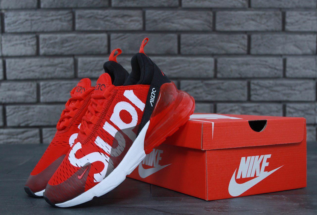 Кроссовки Nike Air Max 270 SUPREME Реальное фото. Премиум качество (Реплика  ААА+) 3e3d35c02b117