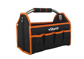 Сумка для инструмента Sturm TB0043, раскладная с металлической ручкой, 330х250х200 мм