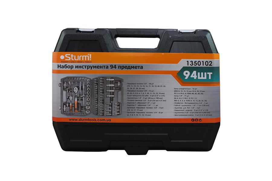 Набор инструмента Sturm 1350102, 94 предмета
