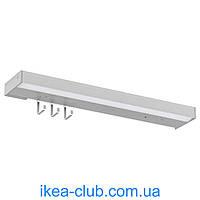 Светодиодн подсвет столешн с эл пит IKEA УТРУСТА 402.457.98 цвет алюминия