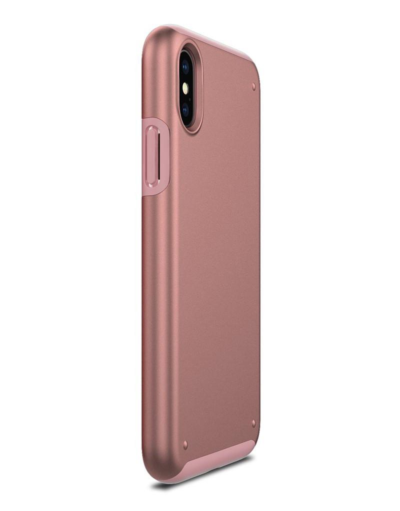 Чехол Patchworks Chroma для iPhone X, розовое золото