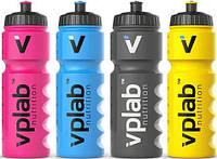 Спортивная бутылка для воды VP LAB Nutrition 750 мл Желтая