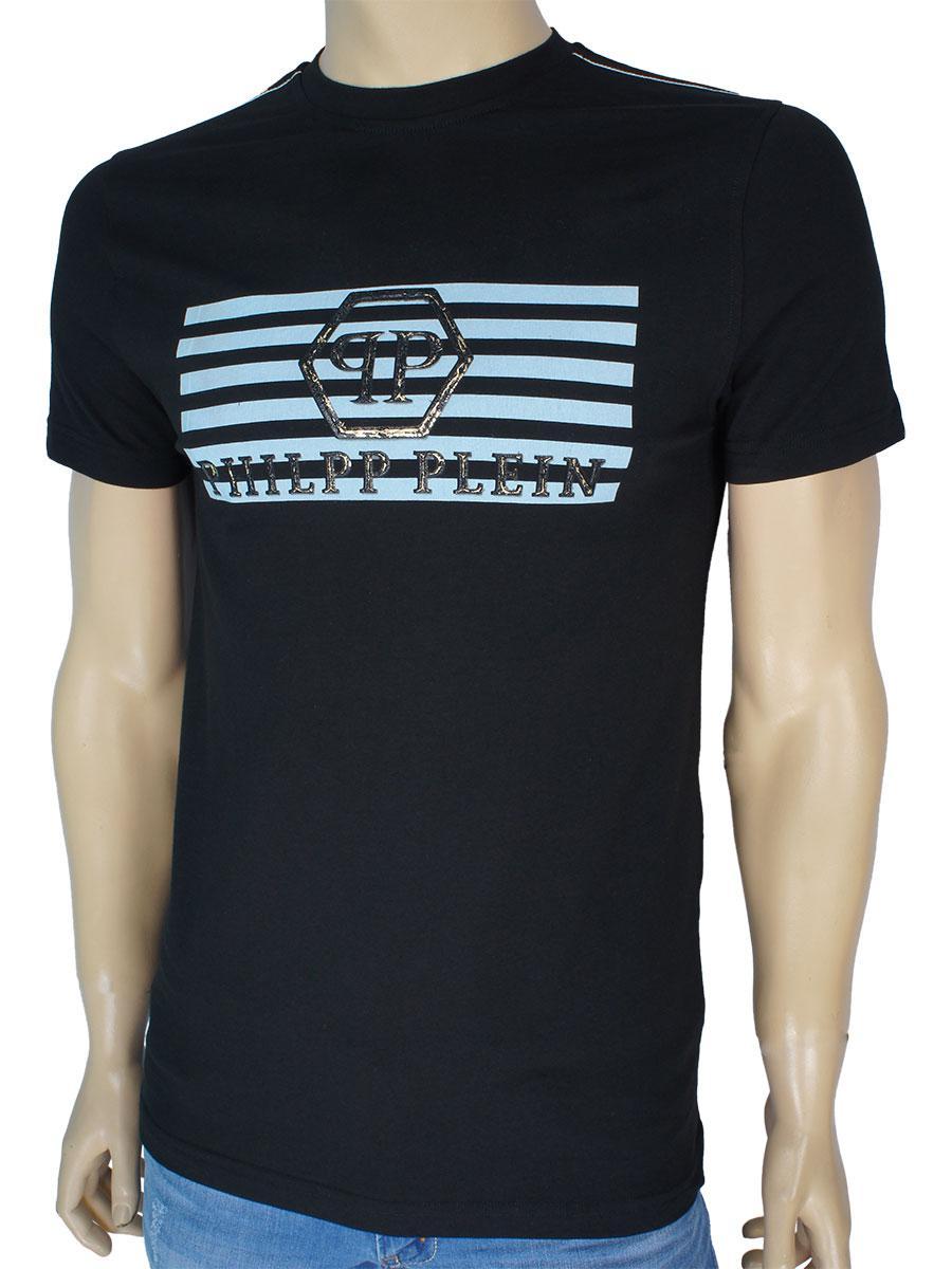 Молодіжна чоловіча футболка 362 чорного кольору