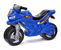 Детский мотоцикл-беговел (толокар каталка) Орион 501 синий