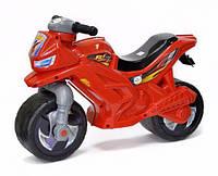 Детский мотоцикл-беговел (толокар каталка) Орион 501 красный