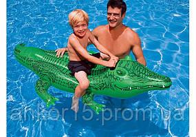 Надувний пліт Крокодил , Intex 58546