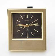 Настольный будильник, Часы, CITIZEN, Кварц, Япония