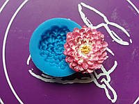Силиконовый молд цветок георгина