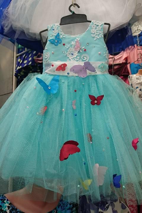 Шикарное нарядное детское платье