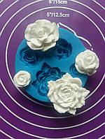 Молд розы 3