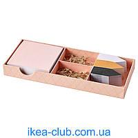 Офисные принадлежности 29 шт. IKEA LANKMOJ 604.024.76 золотой
