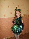 Гарний костюм огірок, огірочок, огірка для дівчинки прокат Київ, фото 2