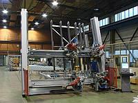 Вертикальная четырехголовочная сварочная машина KMW