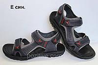 Сандали мужские кожаные Clubshoes  Blue, фото 1