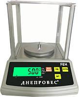 Весы лабораторные FEH-600 (0,01 грамм), фото 1