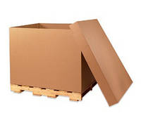 Картонный короб для перевозки тяжелых грузов