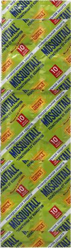 Пластины от комаров Mosquitall Универсальная защита 10 шт.