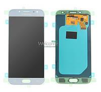 Модуль Samsung SM-J530F Galaxy J5 (2017) silver service дисплей экран, сенсор тач скрин Самсунг