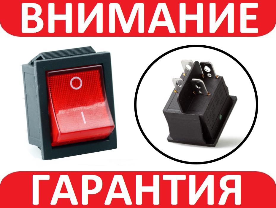 Переключатель, кнопка AC KCD4 250В 16А