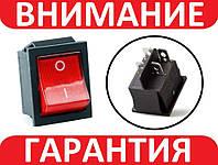 Переключатель, кнопка AC KCD4 250В 16А, фото 1