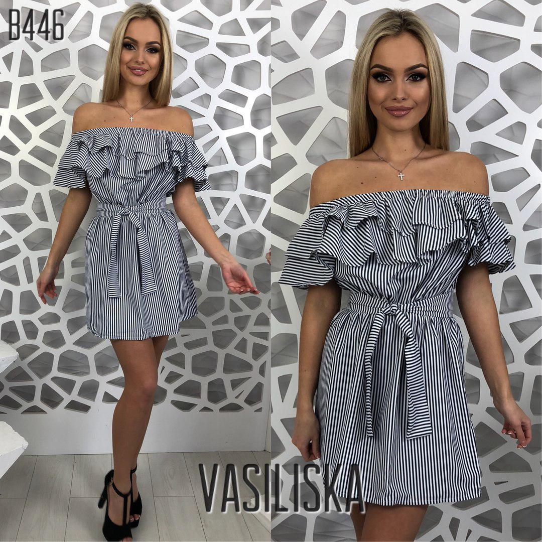 ac459dbd17de585 Летние красивые платья с рюшами В-446: продажа, цена в Харькове ...