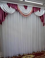 Красивый ламбрекен в большую комнату, фото 1