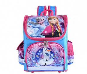 """Рюкзак школьный ортопедический 35*25*16см. """"Принцесса холодное сердце"""""""