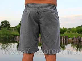 Шорты мужские серые Nike реплика, фото 3