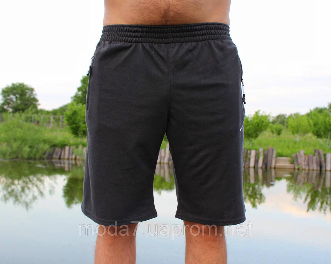 Шорты мужские серые Nike реплика