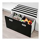 Комплект стеллажа, стола, комода и шкафа IKEA STUVA / FRITIDS 300x50x128 см черный 592.672.62, фото 3
