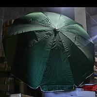 Зонт 2.4м (10 спиц клапан пропитка)