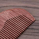 Гребень из розового дерева для волос, фото 5