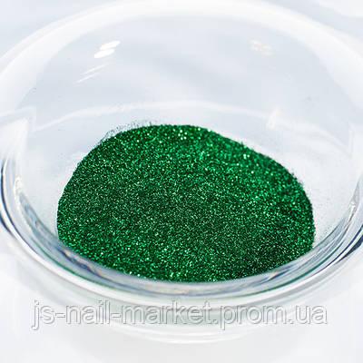 Гліттер (пісок) для манікюру №9 Зелений смарагд