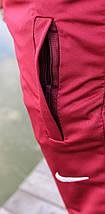 Шорты мужские бордовые Nike реплика, фото 3