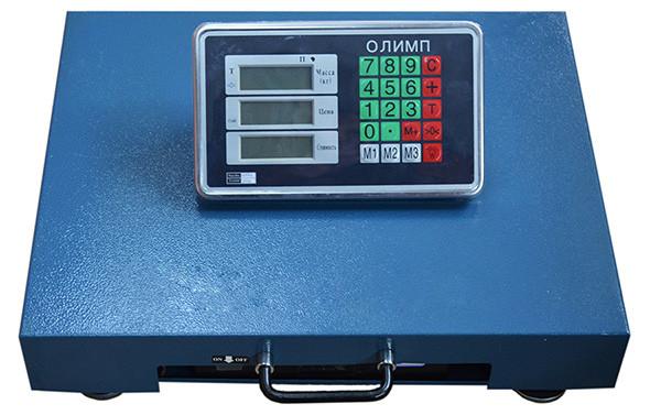 Весы товарные Олимп-300кг TCS-R2 беспроводные