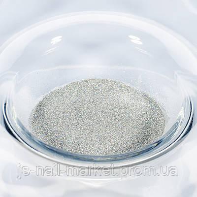 Гліттер (пісок) для манікюру №12 Срібло