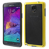 Чехол бампер TPU для Samsung Galaxy Note 4 N910 желтый