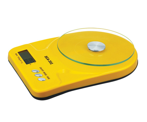 Ваги кухонні SCA-301 yellow