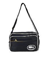 Молодежная сумка через плечо Lacoste 3 Цвета Синий, фото 1