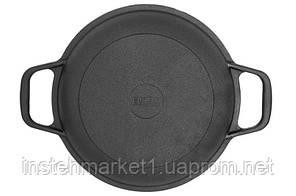 Сковородка-крышка БИОЛ 02042 (диаметр 220 мм) чугунная, фото 2