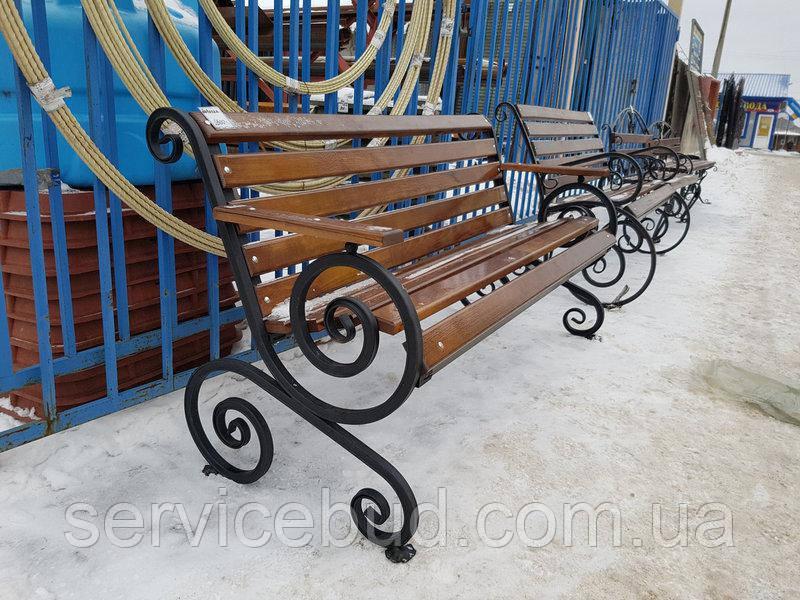 """Скамейка""""Французская лоза с подлокотником"""", фото 1"""
