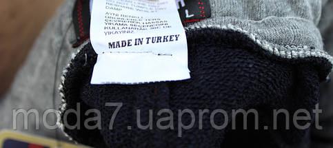 Шорты мужские синие трикотажные Турция, фото 3