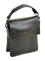 Мужская сумка из кожзама DR. BOND 305-1 black, фото 1