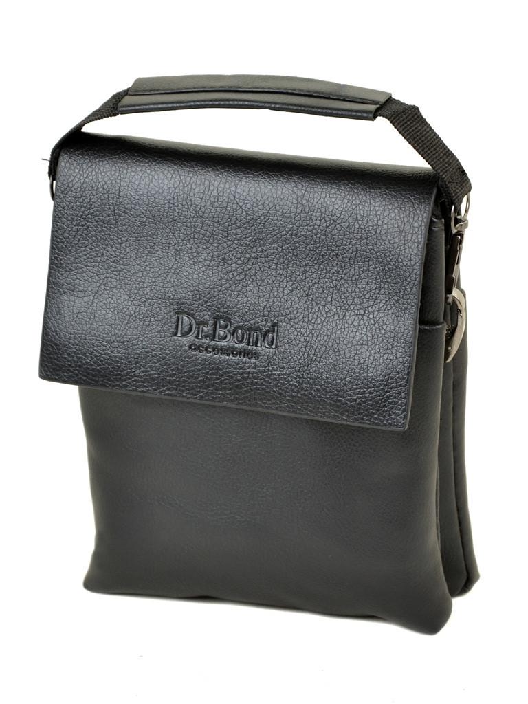 Мужская сумка для документов DR. BOND 205-1 black, фото 1