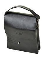 Мужская сумка через плечо DR. BOND 204-2 black, фото 1
