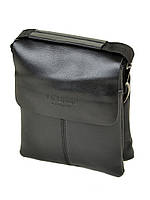 Мужская сумка на плечо DR. BOND 209-1 black, фото 1