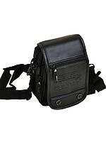 Мужская сумка из нейлона Leastat 304-2 black, фото 1