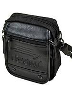 Мужская нейлоновая сумка Leastat М307-2 black, фото 1