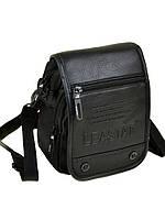 Мужская сумка-планшет из нейлона Leastat М308-2 black, фото 1