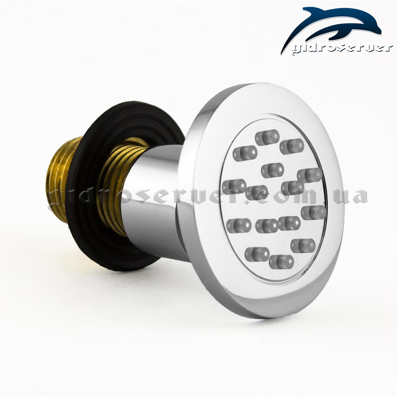 Гідромасажна форсука для душових систем, гарнітурів FL-04 поворотна.
